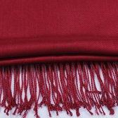 Premium Burgundy Red Cashmere Scarf - Sjaal Bordeaux Rood - Shawl - Kasjmir omslagdoek