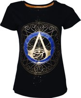 Assassin's Creed Origins - Gold Spaller Logo T-shirt - XL