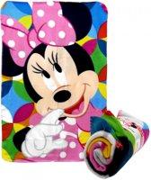 Minnie Mouse fleece deken 100x150cm