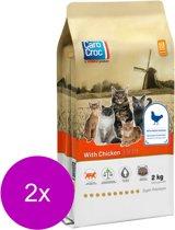 Carocroc With Chicken - Kattenvoer - 2 x 2 kg