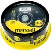 Maxell CD-R 80min/700MB 25 stuks op spindel