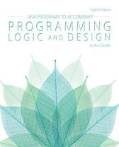 Java (TM) Programs for Programming Logic and Design