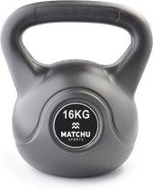 Matchu Sports - Kettlebell - 16 kg - Zwart