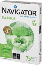7x Navigator Eco-Logical printpapier A4, 75gr, pak a 500 vel