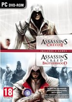 Assassin's Creed 2 + Assassin's Creed Brotherhood - 2 pack - Windows