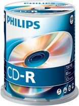 Philips CD-R 52x 700MB / 80min SP(100)