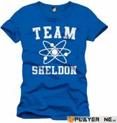 Merchandising BIG BANG THEORY - T-Shirt Team Sheldon Men Blue (XXL)