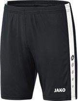 Jako - Shorts Striker - zwart/wit - Maat M