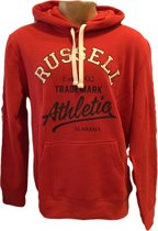 Russell Athletic Sweater met Capuchon - Licht Rood - Maat S