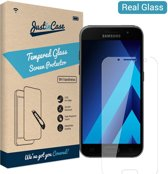 Just in Case Full Cover Tempered Glass Samsung Galaxy A3 (2017) Protector - Clear