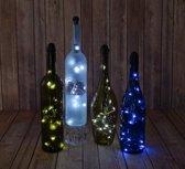 5 x Fles verlichting Light my Bottle op Batterijen Flessen Decoratie