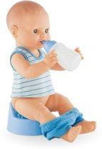 Corolle bad & plaspop Paul wet drink bath baby pop 36cm