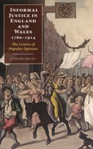 Informal Justice in England and Wales, 1760-1914