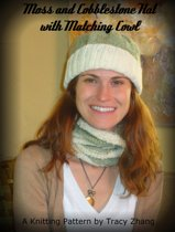 Moss and Cobblestone Hat with Matching Cowl