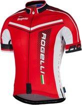 Rogelli Gara Mostro  Fietsshirt - Maat XL  - Mannen - rood/zwart/wit
