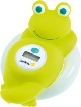 Safety 1st Frog Digital Thermometer - Badthermometer - White and Lime