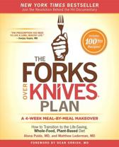 Boek cover The Forks Over Knives Plan van Alona Pulde (Hardcover)