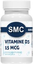 VITAMINE D3 / 15 mcg  Voedingssupplement (200 softgels)  - Productcode: ®SMC-207.200