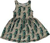 Maxomorra Jurk Dress Spin |PARROT| 122/128