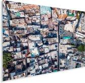 Bovenaanzicht van Lahore in Pakistan Plexiglas 80x60 cm - Foto print op Glas (Plexiglas wanddecoratie)