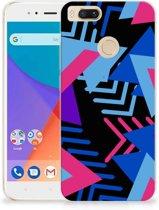 TPU Hoesje Xiaomi Mi A1 Funky Triangle