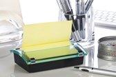 Post-it® Z-Notes Dispenser, Design, Voor zowel 76 x 76 mm als 76 x 127 mm  Post-it® Z-Notes + 1 x  Post-it® Z-Notes Canary Yellow™, 76 x 127 mm, 100 Blaadjes/Blok