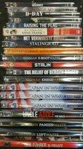 Duffle bag met 20 stuks diverse oorlog films en documentaires op dvd