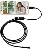 Endoscoop met HD Camera voor android telefoon - Zwart