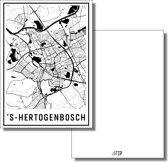 bijStip ansichtkaart kaart Den Bosch 's-Hertogenbosch