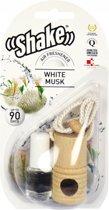 Shake Luchtverfrisser White Musk + Navulling 2 X 4,5 Ml
