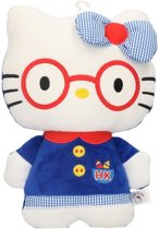 Pluche Hello Kitty knuffel in kleding 25 cm
