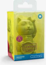 Mustard Desktop Markeerstift - Lucky Cat - Lime