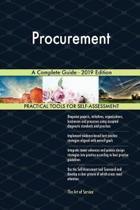 Procurement a Complete Guide - 2019 Edition