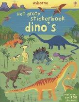 Grote stickerboek Dino's
