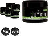 Junior Power Styling Shine Wax 50 ml - 5 stuks - Voordeelverpakking