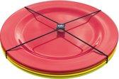 Zak! Designs Hot Summer Dinerbord - Rond - 4 stuks - Ø 28 cm