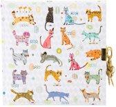 GOLDBUCH GOL-44357 TURNOWSKY dagboek CATS met slot