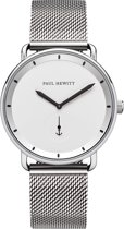 Paul Hewitt Breakwater Line PH-BW-S-W-4M - Horloge - Staal - Zilverkleurig - 42mm