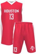 Houston Basketball Tenue - James Harden (13) - rood