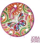 """Diamond Painting Lamp """"JobaStores®"""" Vlinder"""
