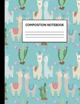 Composition Notebook: Wide Ruled Paper Notebook Journal - Cute Wide Blank Lined Workbook for Teens Kids Students Girls for Home School Colle