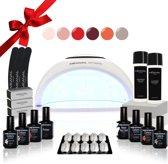 MEANAIL® Kit Sphere UV lamp LED - 6 kleuren - Gel nagellak