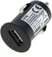 USB autolader met 1 poort - compact - 1A / zwart