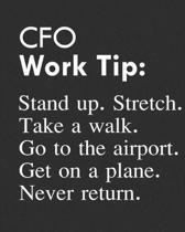 CFO Work Tip