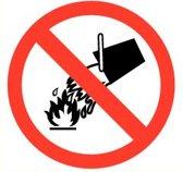 ATV Safety Waterblus verboden 210mm Vinyl 346
