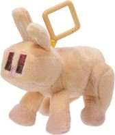 MINECRAFT Yellow Bunny Plush Clip Wave 1 - Knuffel