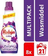 Robijn Klein & Krachting Purple Sensation Wasmiddel - 168 wasbeurten - 8 x 735 ml