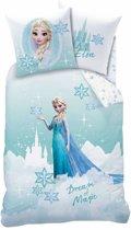 Disney Frozen Dream - Dekbedovertrek - Eenpersoons - 140 x 200 cm - Blauw