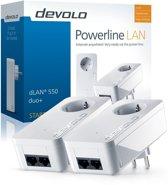 Devolo dLan 550 Powerline zonder wifi - 2 Stuks - NL