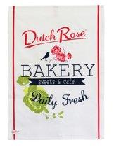 Dutch Rose Theedoek Bakery - 50 x 70 cm